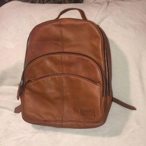 Joe's Jeans Cognac Leather Backpack